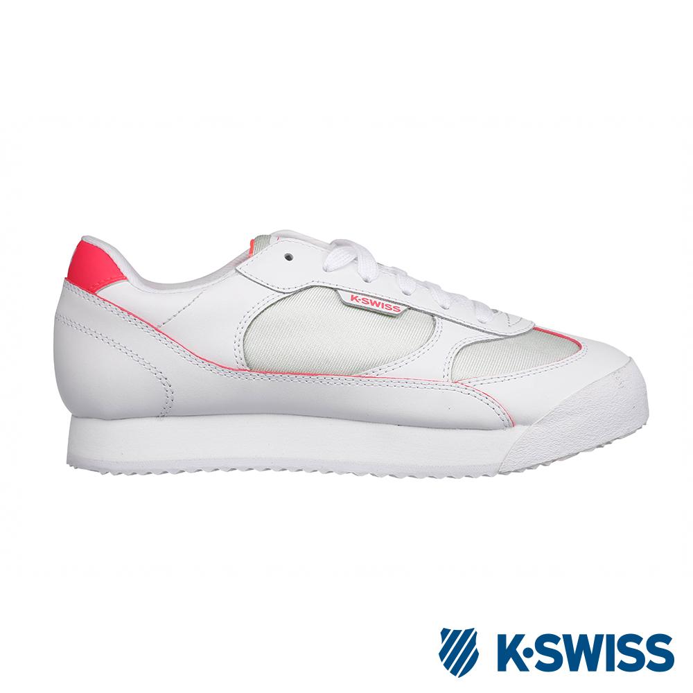 [零碼出清]K-SWISS Berry時尚運動鞋-女-白/桃紅