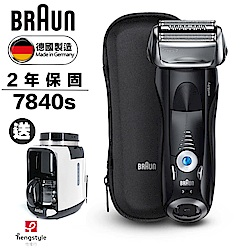 德國百靈BRAUN-7系列智能音波極淨電鬍刀7840s