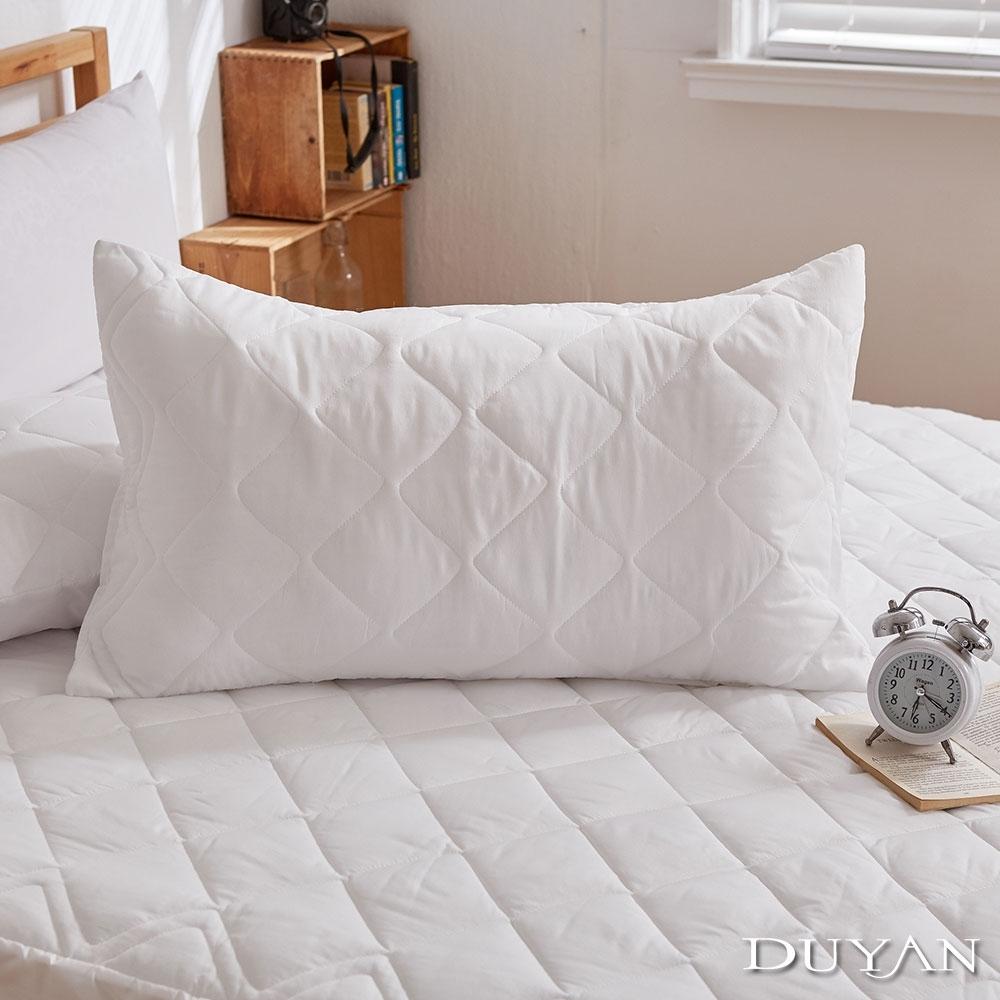 DUYAN竹漾-防潑水枕套保潔墊(2入) 台灣製
