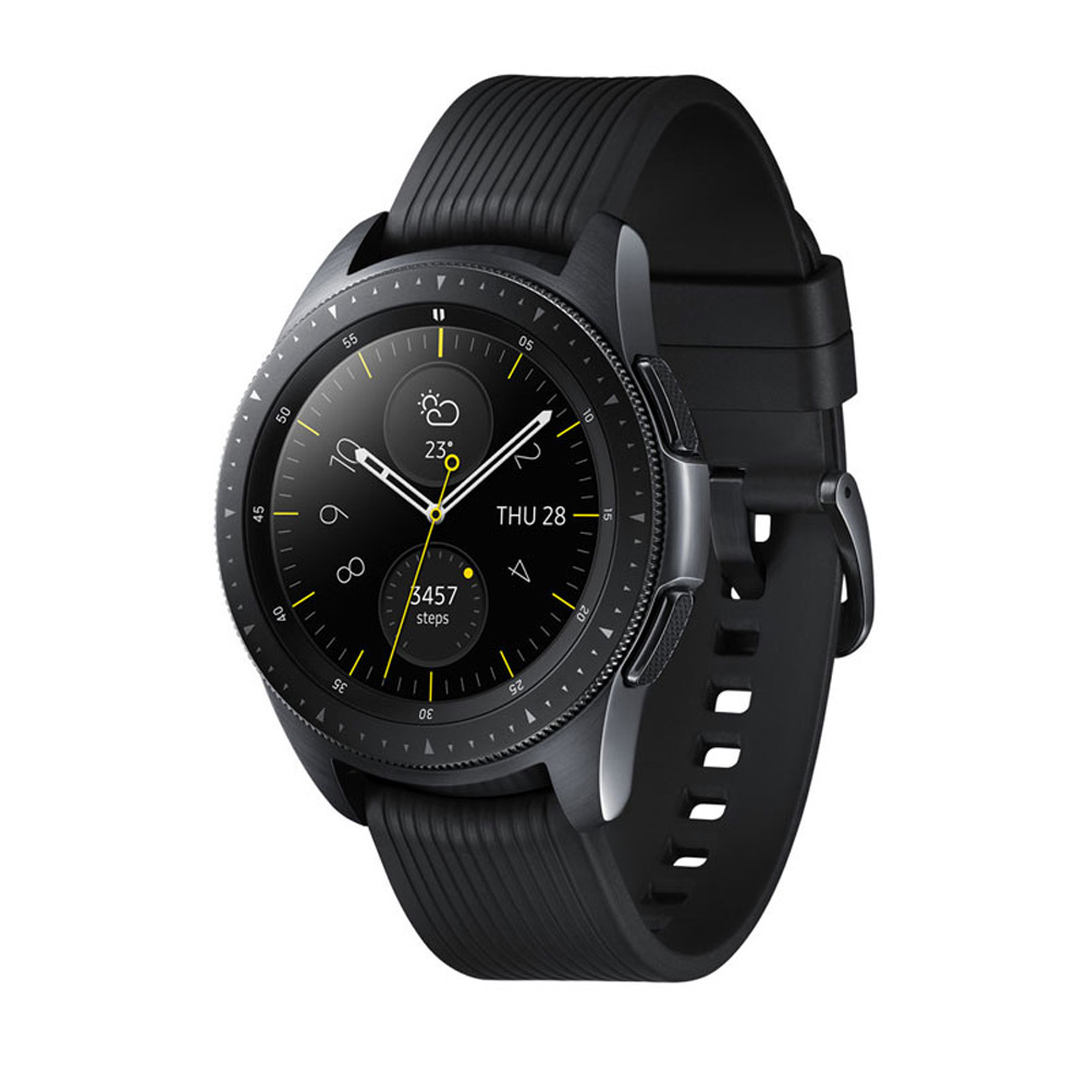 【LTE版】Samsung Galaxy Watch 智慧型手錶 (42mm)-午夜黑