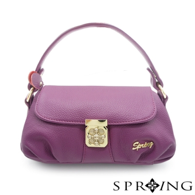SPRING-優雅名媛真皮3用波士頓包
