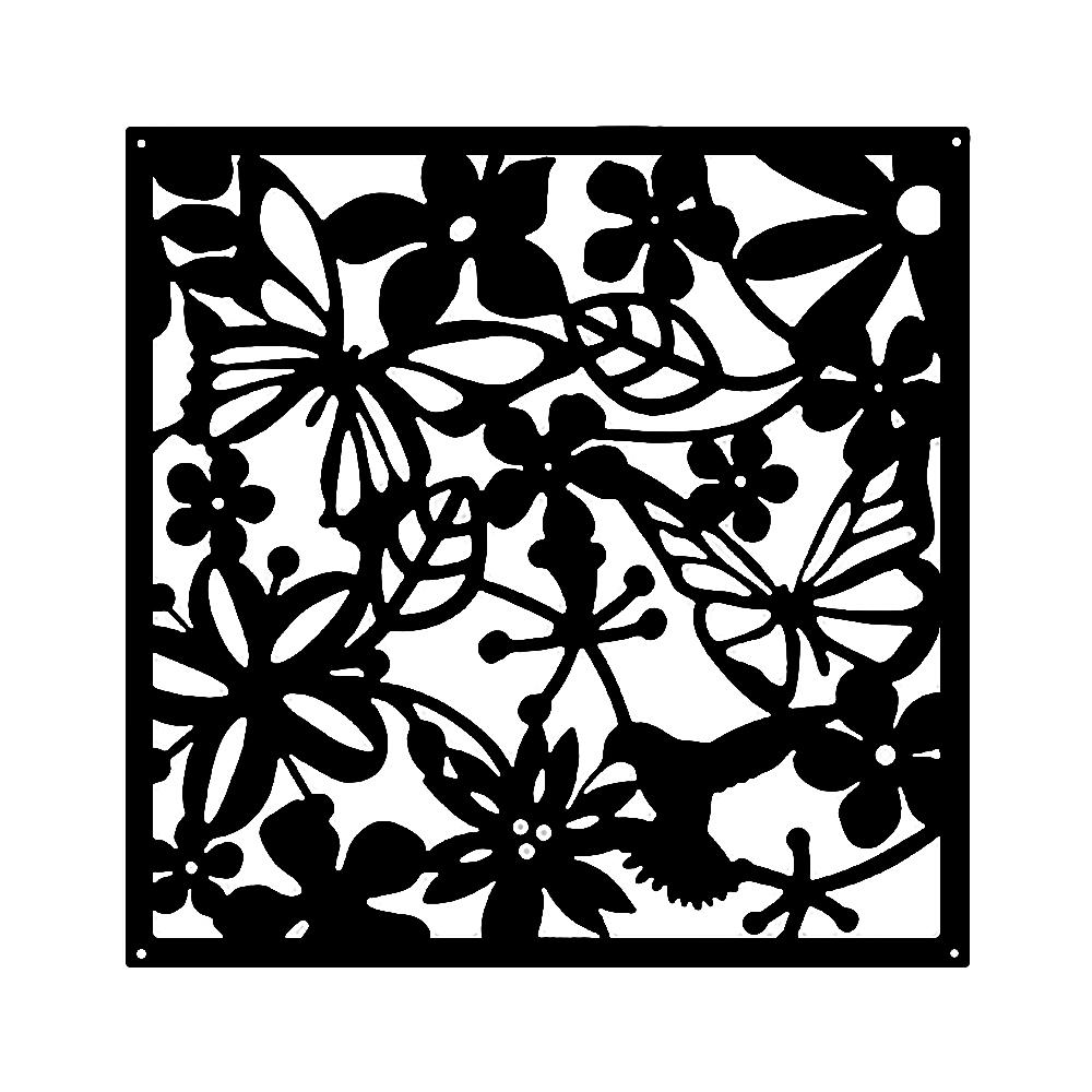 【Incare】精緻雕花掛飾創意屏風 (8入組)