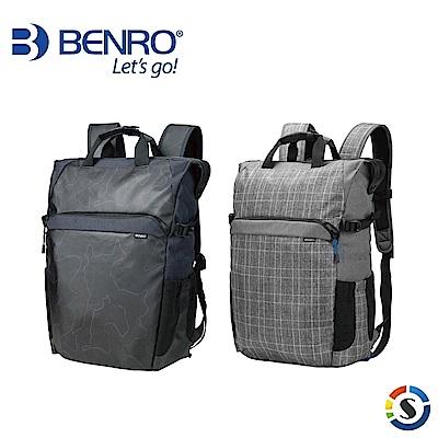 BENRO百諾 Colorful200 炫彩系列後背包 (黑/灰)