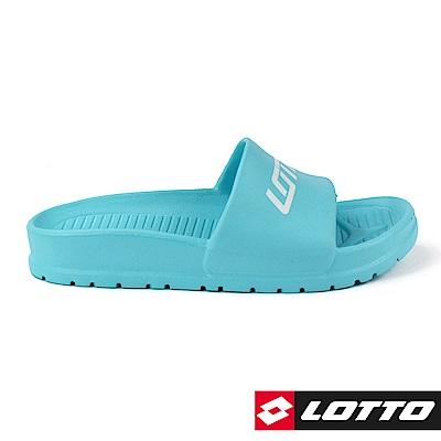 LOTTO 義大利 VENICE 輕量拖鞋 (水藍)