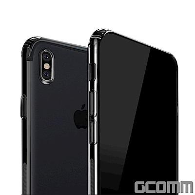 GCOMM iPhone X 清透圓角防滑邊保護殼