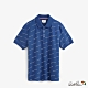 Arnold Palmer-男裝-滿版簽名印花POLO衫-藍 product thumbnail 1
