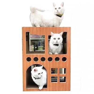 寵喵樂 多貓三層別墅屋 二代進階版 SY-375