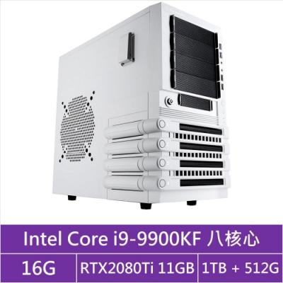 (無卡分期12期)技嘉Z390平台[浩瀚夜王]i9八核RTX2080Ti獨顯電玩機