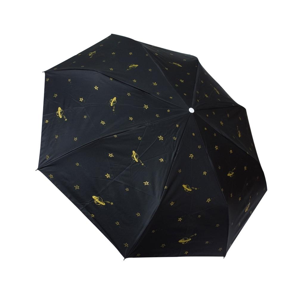 RAINSTORY宇宙星球抗UV降溫自動傘