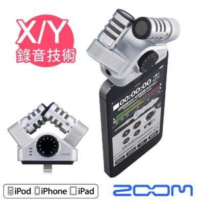 ZOOM iQ6 行動麥克風|iOS裝置變身專業X/Y錄音座