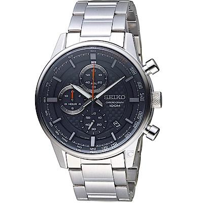 SEIKO精工CS縱橫城市時尚計時腕錶(SSB313P1)