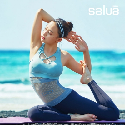 收腹小蠻腰!韓國熱銷 salua 鍺元素束腰收腹神氣 & 護眼眼罩 男女通用