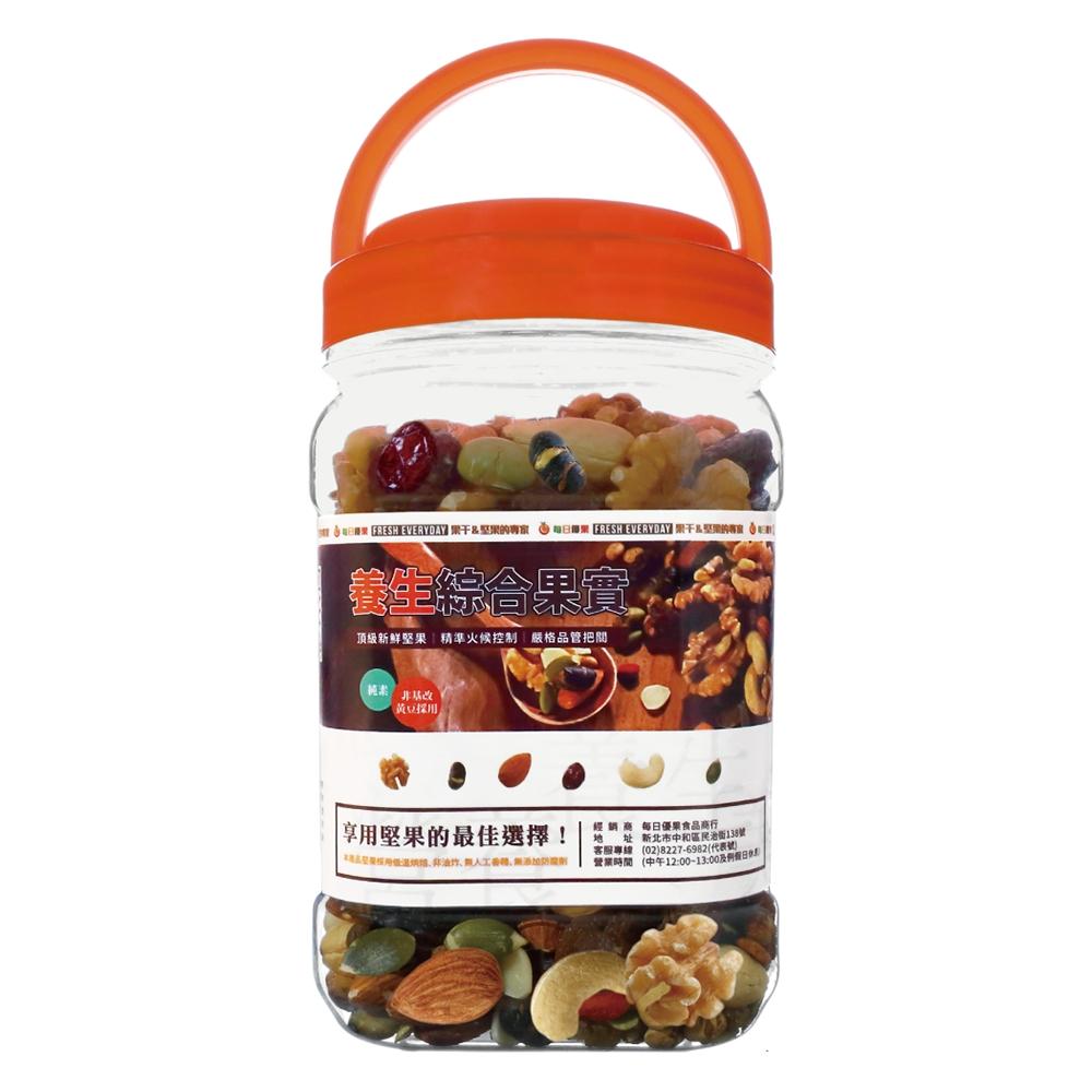 每日優果 罐裝養生綜合果實(420G)