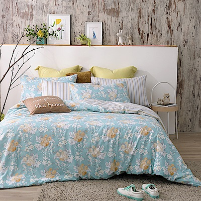 MONTAGUT-香榭麗舍-100%純棉-兩用被床包組 (雙人)