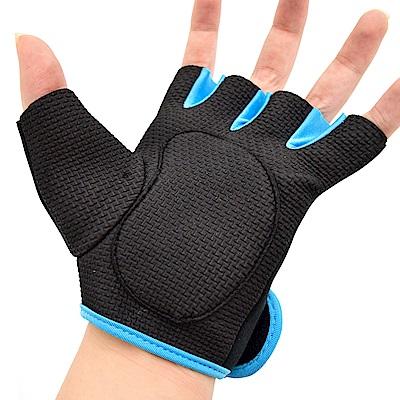 彈性運動手套 全掌止滑手套-(快)