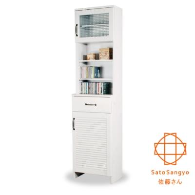 Sato_DOLLY朵莉單抽雙門SMART置物櫃‧幅45cm W45*D30*H180 cm