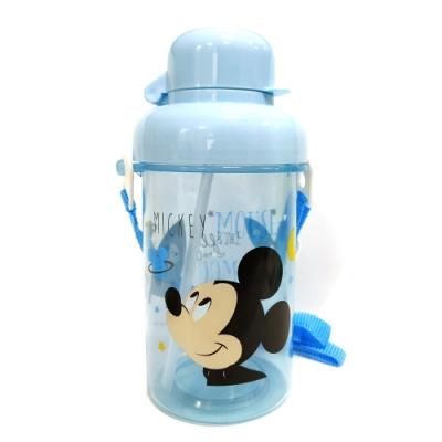 BabyPark 迪士尼吸管式透明冷水壺300ml-月亮米奇