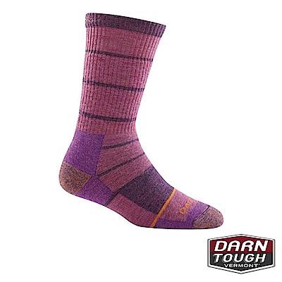 【美國DARN TOUGH】女羊毛襪SUMMIT STRIPE健行襪(顏色隨機)