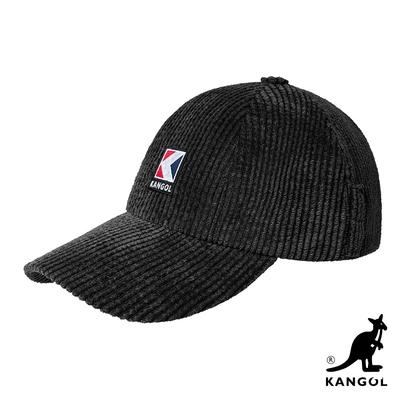 KANGOL-SERVICE-K  直條棒球帽-黑色