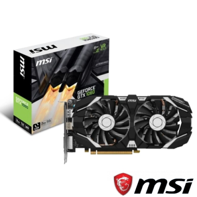 MSI微星 GeForce GTX 1060 3GT 顯示卡