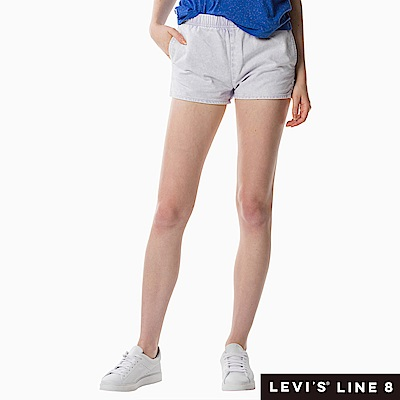 Levis 女款 牛仔短褲 鬆緊帶褲頭
