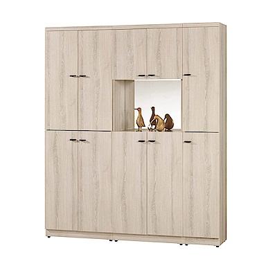 H&D 玄關5尺組合鞋櫃