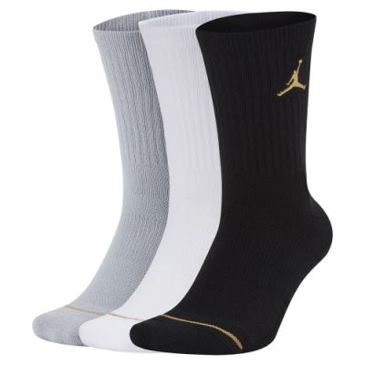 NIKE 襪子 運動襪 中筒襪 喬丹 6雙組 黑白灰 SX5545915 U J EVERYDAY MAX CREW 3PR