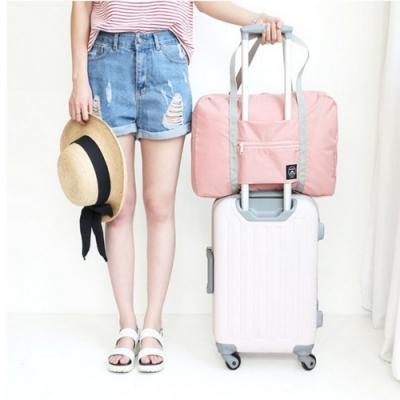 【Cap】韓版大容量折疊行李拉桿包