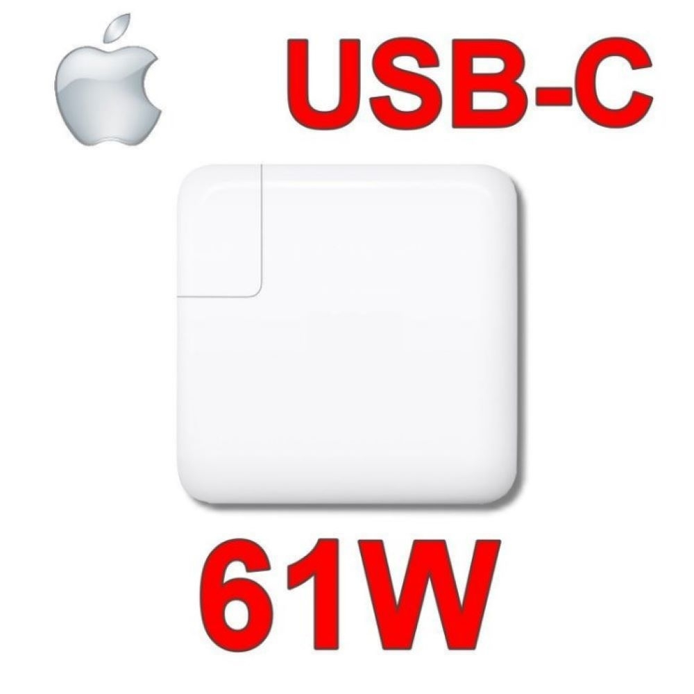 蘋果 APPLE 61W TYPE-C USB-C 變壓器 MacBook PRO 13吋 A1706 A1708 A1718 MNF72Z/A 相容 20.3V 3A,9V 3A,5.2V 2.4A