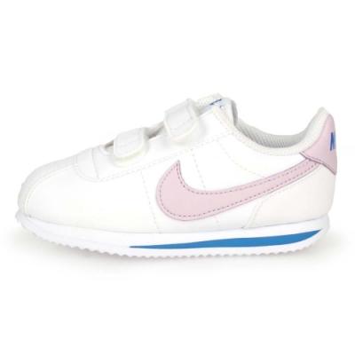 NIKE 兒童復古休閒鞋 CORTEZ BASIC SL 白藍紫