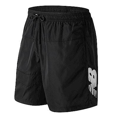 New Balance平織短褲AMS91570BK_男_黑