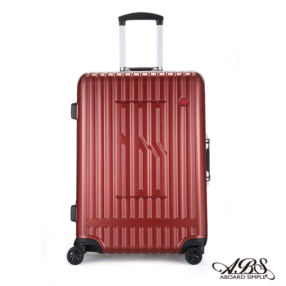 ABS M1R+系列 25吋深鋁框PC輕量TSA鋁框箱防刮耐摔飛機輪 99-054B