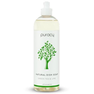 Puracy 樸芮希 自然潔淨洗碗精 – 綠茶萊姆 473mL