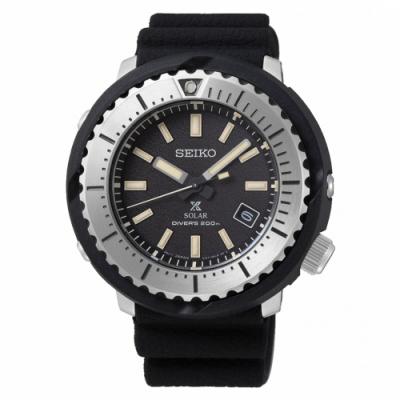 SEIKO PROSPEX小鮪魚太陽能潛水腕錶V157-0DD0D/SNE541P1