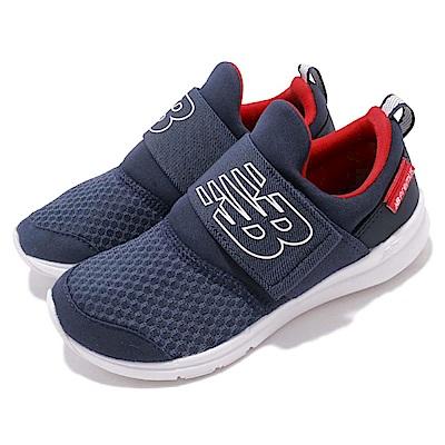 New Balance 慢跑鞋 POPRESNVW 寬楦 童鞋