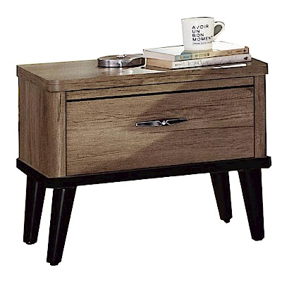 綠活居 波利時尚1.8尺木紋床頭櫃/收納櫃-53x41x51cm-免組