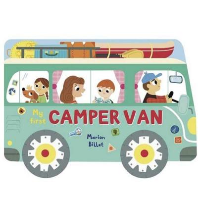 My First Camper Van 搭露營車去露營輪子轉轉硬頁書