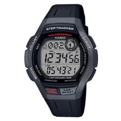 CASIO 樂活首選輕量大錶面運動(WS-2000H-1A)黑框/49.3mm