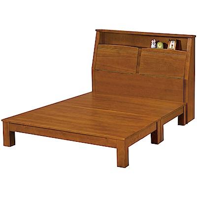 綠活居 湯利3.5尺單人床台組合(床頭箱+床底+不含床墊)-109x220x110cm免組
