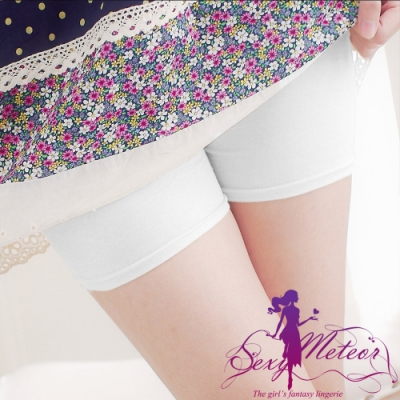 內搭 全尺碼 內搭褲安全褲(白莫代爾平口) SexyMeteor