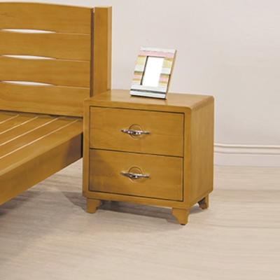 【AS】萊妮全實木床頭櫃-50x42x54cm