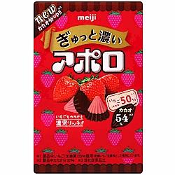 明治製果 阿波羅草莓巧克力(40g)