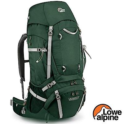 英國 LOWE ALPINE 新款 Diran 65-75 輕量登山健行背包_鱷魚綠