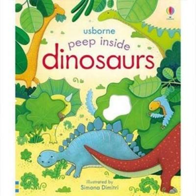Peep Inside Dinosaurs 瞧瞧看翻頁操作書:遠古恐龍