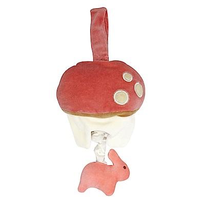 miYim有機棉音樂拉鈴-兔兔蘑菇