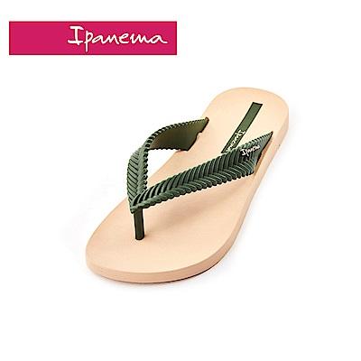 IPANEMA NATURE系列 編織帶原色人字拖鞋(女款)-米色