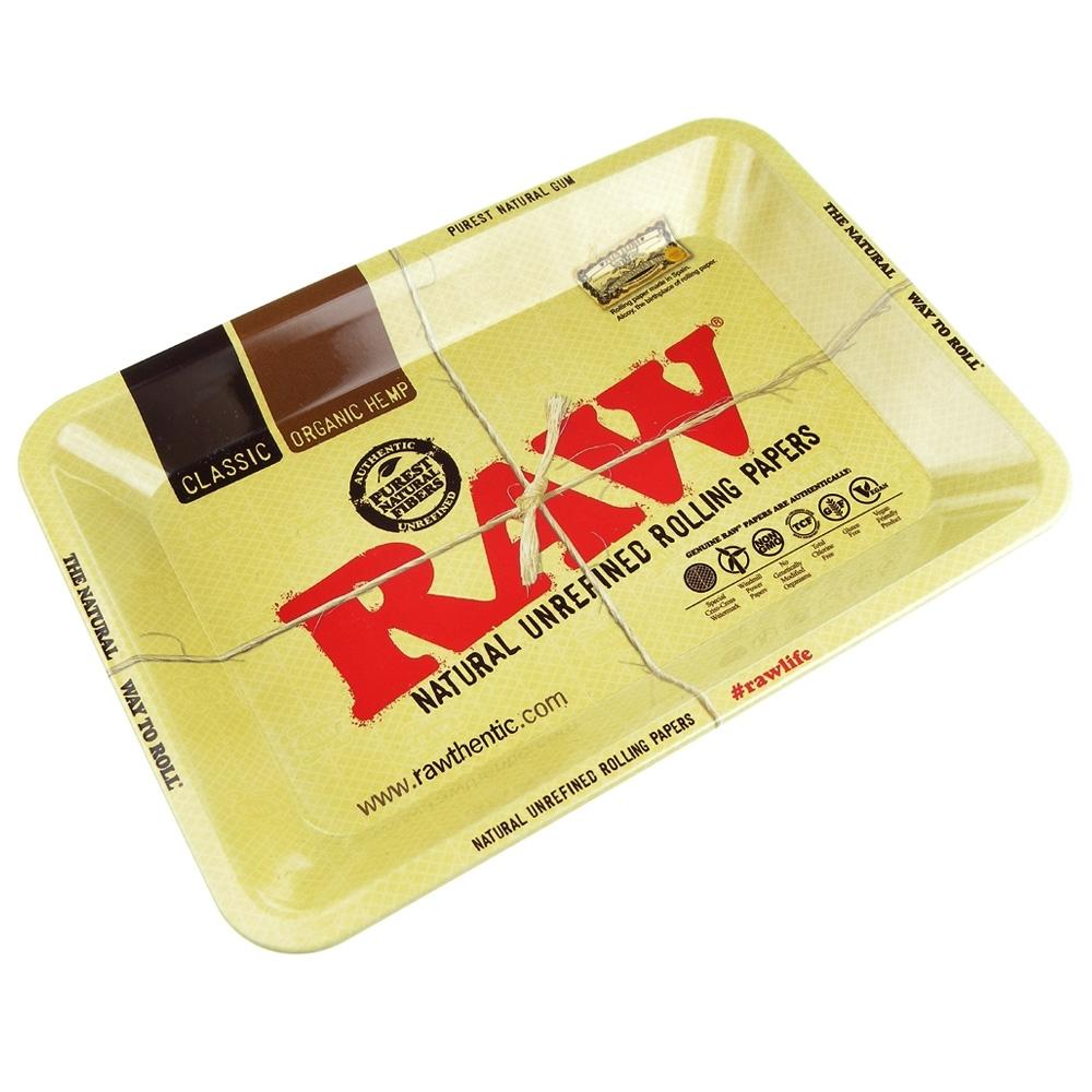 RAW 西班牙進口-CLASSIC TRAY(迷你款)-金屬製捲煙盤/鐵盤/收納盤/托盤