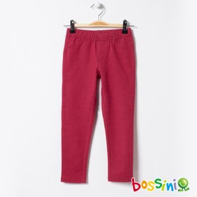 bossini女童-彈性輕鬆褲02櫻桃紅