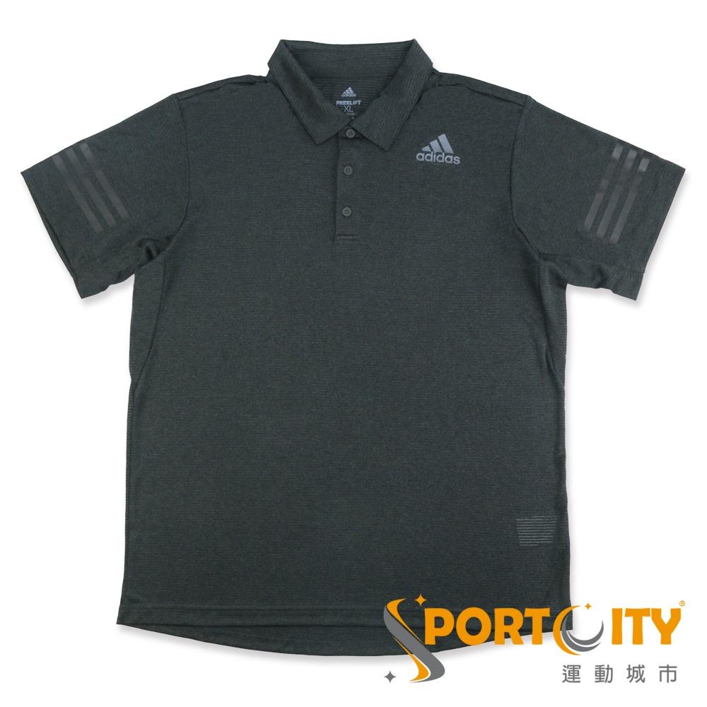 ADIDAS 男 短袖POLO衫 -CE4073-鐵灰