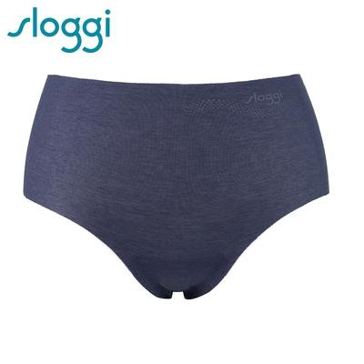 sloggi Zero Feel Cotton 零感系列混棉款平口褲 藍寶石 R87-1963B9